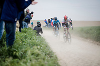 complete off-day by Alexander Kristoff (NOR/UAE)<br /> <br /> 117th Paris-Roubaix 2019 (1.UWT)<br /> One day race from Compiègne to Roubaix (FRA/257km)<br /> <br /> ©kramon