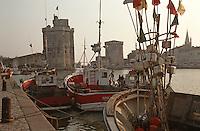 France/17/Charente Maritime/La Rochelle: Le vieux port et les tours