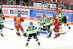 Eishockey DEL 37. Spieltag: Düsseldorfer EG vs <br /> ERC Ingolstadt am 07.04.2021 im ISS Dome in Düsseldorf<br /> <br /> Tor zum 3:4 durch Düsseldorfs Jerome Flaake (Nr.90)<br /> <br /> Foto © PIX-Sportfotos *** Foto ist honorarpflichtig! *** Auf Anfrage in hoeherer Qualitaet/Aufloesung. Belegexemplar erbeten. Veroeffentlichung ausschliesslich fuer journalistisch-publizistische Zwecke. For editorial use only.