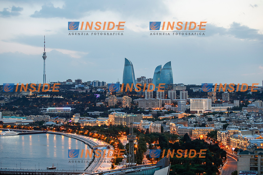 Baku circuit ambiance during the Formula 1 Azerbaijan Grand Prix 2021 from June 04 to 06, 2021 on the Baku City Circuit, in Baku, Azerbaijan - <br /> FORMULA 1 : Grand Prix Azerbaijan <br /> 05/06/2021 <br /> Photo DPPI/Panoramic/Insidefoto <br /> ITALY ONLY