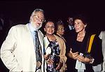 """ORNELLA VANONI CON  ANNA PROCLEMER  E LUCIO ARDENZI - PRIMA """"MEMORIE DI ADRIANO"""" VILLA ADRIANA 1989"""