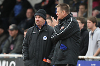 Billericay Town manager Craig Edwards (L) - AFC Hornchurch vs Billericay Town - Ryman League Premier Division Football at The Stadium, Upminster Bridge, Essex - 09/04/12 - MANDATORY CREDIT: Gavin Ellis/TGSPHOTO - Self billing applies where appropriate - 0845 094 6026 - contact@tgsphoto.co.uk - NO UNPAID USE