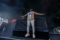 London on Da Track performs at the Festival d'ete de Quebec (Quebec Summer Festival) on July 12, 2018.
