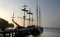 Nederland  Hoorn- September 2020 .  Historische schepen in de haven van Hoorn.    Foto : ANP/ Hollandse Hoogte / Berlinda van Dam