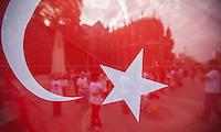 "21.06.2013 - ""Stand Still"" Turkish Protest"