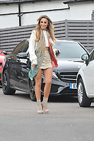 Amber Dowding <br /> arriving for filming for Towie la sala Chigwell<br /> <br /> <br /> ©Richard Open snappers