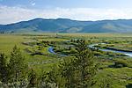 Stanley Creek and the Stanley Wildlife Interpretive Area on Hwy 21. Idaho