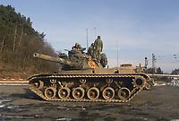 - NATO exercises in Germany, US Army M 60 tank (January 1986)<br /> <br /> - Esercitazioni NATO in Germania, carro armato M 60 dell'US Army (Gennaio 1986)