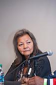 Washington DC, USA. Chico Vive conference, 4th April 2014. Conference speaker Chief Liz Logan, Canada.