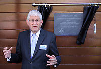 Pictured: Swansea University vice chancellor Richard B Davies Tuesday 04 April 2017<br />Re: Official opening of the Fairwood Training Complex of Swansea City FC, Wales, UK