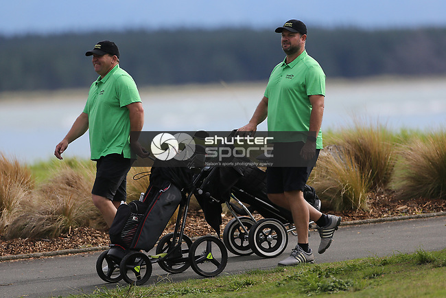 NELSON, NEW ZEALAND -APRIL 14: Findex Charity Golf Day Wednesday 14  April 2021,Nelson Golf Club,Nelson New Zealand. (Photo by Evan Barnes Shuttersport Limited)