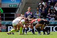 England and Canada scrum down during the iRB Challenge Cup at Twickenham on Sunday 13th May 2012 (Photo by Rob Munro)
