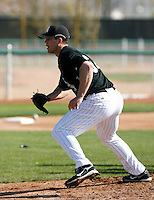 Clayton Richard -  Chicago White Sox - 2009 spring training.Photo by:  Bill Mitchell/Four Seam Images