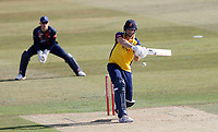 Paul Walter hits out for Essex during Kent Spitfires vs Essex Eagles, Vitality Blast T20 Cricket at The Spitfire Ground on 18th September 2020