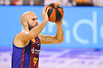 League ACB-ENDESA 2020/2021.Game 15.<br /> FC Barcelona vs Club Joventut Badalona: 88-74.<br /> Nick Calathes.