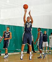 April 9, 2011 - Hampton, VA. USA;  Aaron Gordon participates in the 2011 Elite Youth Basketball League at the Boo Williams Sports Complex. Photo/Andrew Shurtleff