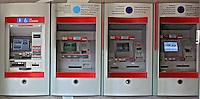 Caixa eletrônico de banco. SP.Foto de Juca Martins.