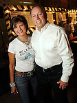 Lori and Dan Wolterman at the Cattle Baron's Ball at the George Ranch Saturday April 24,2010.. (Dave Rossman Photo)