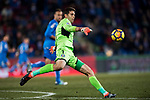 Goalkeeper Damian Emiliano Martinez of Getafe CF in action during the La Liga 2017-18 match between Getafe CF and Athletic Club at Coliseum Alfonso Perez on 19 January 2018 in Madrid, Spain. Photo by Diego Gonzalez / Power Sport Images