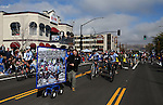 Supporters of the Carson City Off-Road mountain bike race ride in the annual Nevada Day parade in Carson City, Nev. on Saturday, Oct. 29, 2016. <br />Photo by Cathleen Allison