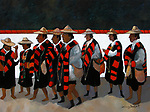 Chiapas; Gathering of a Religious Festival <br />
