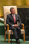 DSG meeting<br /> <br /> AM Plenary General DebateHis<br /> <br /> <br /> His Majesty King Abdullah II ibn Al Hussein, King, Hashemite Kingdom of Jordan