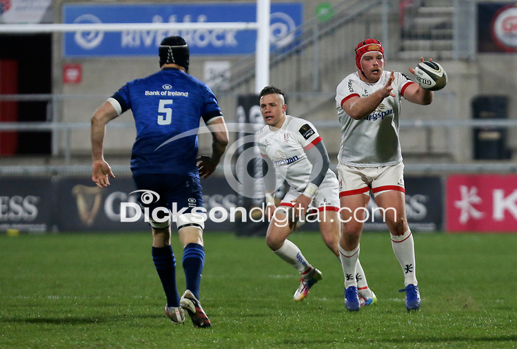 6 March 2021; Eric O'Sullivan during the Guinness PRO14 match between Ulster and Leinster at Kingspan Stadium in Belfast. Photo by John Dickson/Dicksondigital