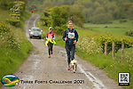 2021-05-23 Three Forts Challenge 02 RB Course