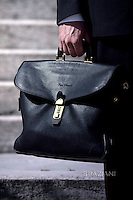 Bag the Pope Francis special Jubilee Audience at Saint Peter's Square at the Vatican on March 12, 2016.