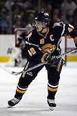 February 17th 2007:  Danny Briere (48) of the Buffalo Sabres skates up ice vs. the Boston Bruins at HSBC Arena in Buffalo, NY.  The Bruins defeated the Sabres 4-3 in a shootout.