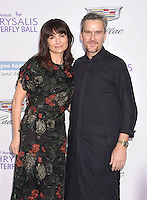 BRENTWOOD, CA - JUNE 11: Fashion designer Rosetta Getty (L) and actor Balthazar Getty arrive at the 15th Annual Chrysalis Butterfly Ball at a private residence on June 11, 2016 in Brentwood, California.