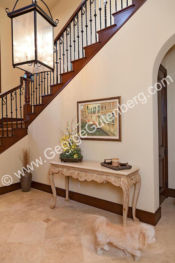 Stock photo of residential interior design detail