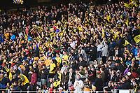 30th May 2021; Auckland, New Zealand;  Massed Phoenix Fans. Wellington Phoenix versus Perth Glory, A-League football at Eden Park.