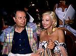 """TINTO BRASS CON SANDRA MILO<br /> PREMIERE """"FERMO POSTA"""" DI TINTO BRASS ALLA CASINA VALADIER ROMA 1995"""