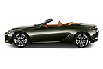 Car Driver side profile view of a 2021 Lexus LC 500-Base 2 Door Convertible Side View