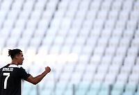 Calcio, Serie A: Juventus - Torino, Turin, Allianz Stadium, July 4, 2020.<br /> Juventus' Cristiano Ronaldo celebrates after scoring during the Italian Serie A football match between Juventus and Torino at the Allianz stadium in Turin, July 4, 2020.<br /> UPDATE IMAGES PRESS/Isabella Bonotto