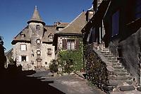 Europe/France/Auvergne/15/Cantal/Salers: Maison Bertranoy
