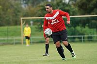 Spielertrainer Abdelkader Boulghalegh (Haßloch) - Biebesheim 03.10.2021: SV Olympia Biebesheim II vs. TV Haßloch, Kreisliga B