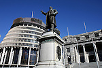 Parliament Buildings. Wellington scenes. Photo: Marc Weakley