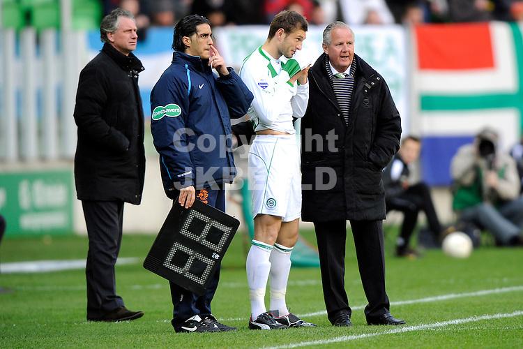 voetbal fc groningen - nac erediivisie seizoen 2007-2008 06-04-2008 .levchenko terug na blessureleed van 3 maand.fotograaf Jan Kanning