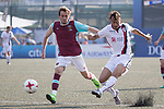 West Ham United (in purple) vs Cagliari Calcio (in white) during their Main Tournament Shield Final match, part of the HKFC Citi Soccer Sevens 2017 on 28 May 2017 at the Hong Kong Football Club, Hong Kong, China. Photo by Chris Wong / Power Sport Images