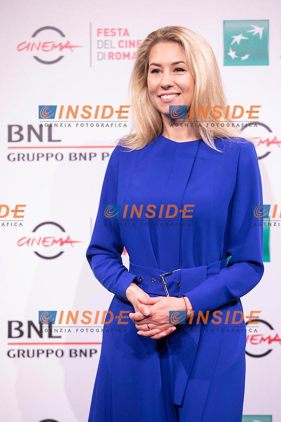 Director Giedre Zickyte poses for photographers for the photo call of the film The Jump during the 15th edition of Rome film Fest.<br /> Rome (Italy), 16/10/2020<br /> Photo Pool Insidefoto