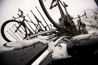 Kuurne-Brussel-Kuurne 2013: race cancelled because of snow