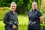 Enjoying a stroll in the Demesne in Killarney on Sunday, l to r: Aileen Buckley and Theresa Wharton.