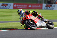 Shane Byrne of Be Wiser Ducati Racing Team on his way to winning race two of the MCE British Superbikes in Association with Pirelli round 12 2017 - BRANDS HATCH (GP) at Brands Hatch, Longfield, England on 15 October 2017. Photo by Alan  Stanford / PRiME Media Images.