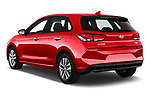 Car pictures of rear three quarter view of a 2018 Hyundai i30 Twist 5 Door Hatchback angular rear