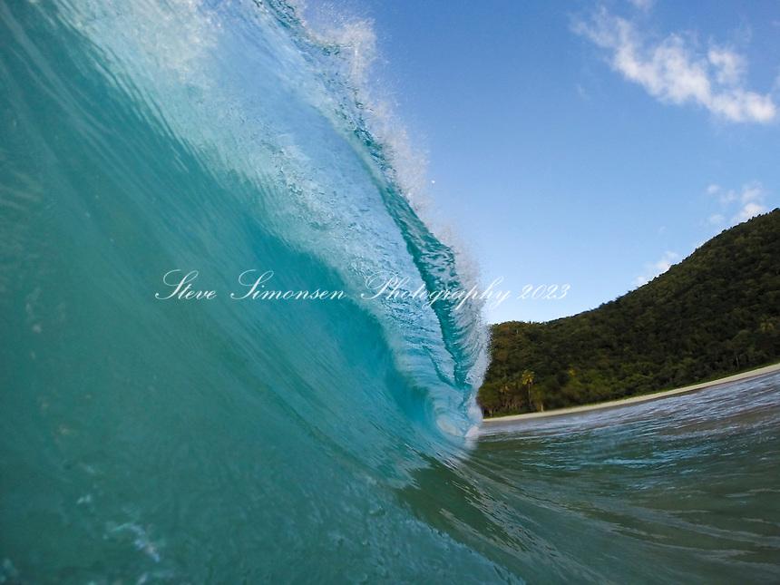 Turquoise wave<br /> British Virgin Islands