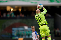 Mexico City, Mexico - Sunday June 11, 2017: Brad Guzan during a 2018 FIFA World Cup Qualifying Final Round match between the men's national teams of the United States (USA) and Mexico (MEX) at Azteca Stadium.