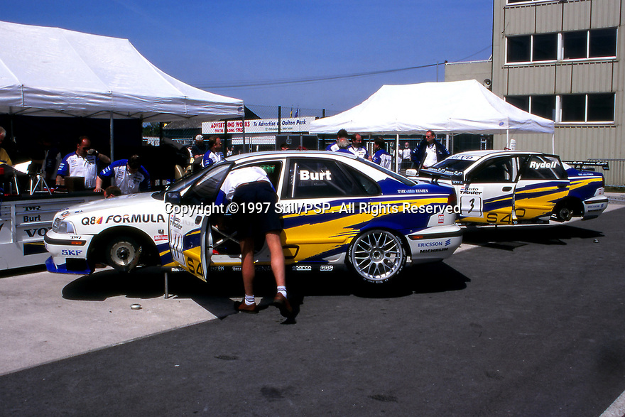 1997 British Touring Car Championship. Volvo S40 Racing. Volvo S40.