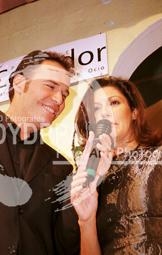 Carlos Lozano and Carmen Ordonez. Conducters of the Fashion Parque Corredor